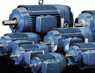 Brzdové motory s kužeľovým rotorom Demag KB