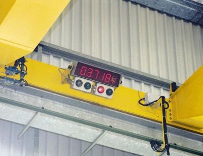 Zariadenie pre meranie záťaže Demag
