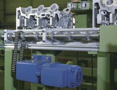 Program motorov s prevodovkou Demag